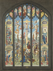 Window of St Margaret's Church, Westminster